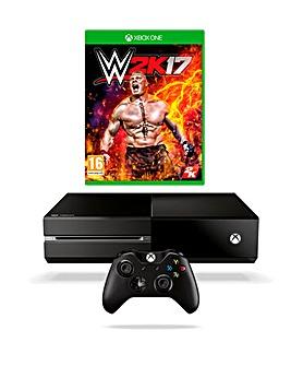 Xbox One 500GB Console & WWE 2K17 Bundle