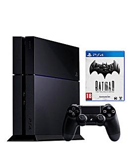 PS4 500GB & Batman Telltale Series