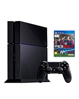 PS4 1TB & Pro Evolution Soccer Bundle