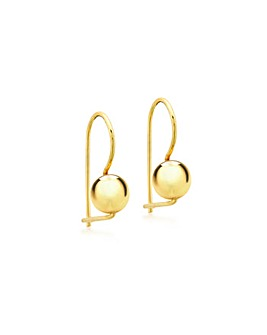 9Ct Gold 6mm Polished Ball Earring