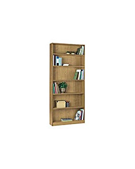 Maine Tall Wide Bookcase - Oak
