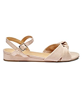 Sole Diva Wedge Sandal EEE Fit