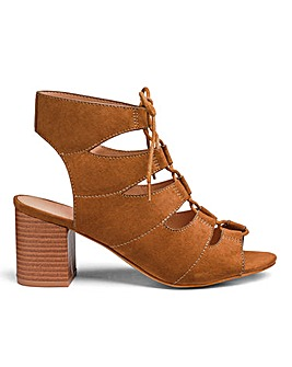 Sole Diva Mabel Tie Sandal EEE Fit