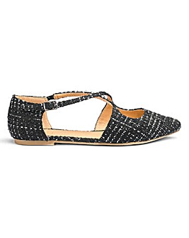 Sole Diva Saskia Cross Strap EEE Fit
