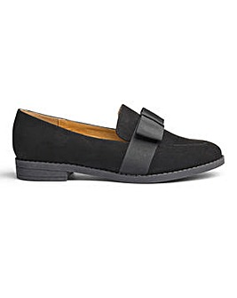 Sole Diva Tia Bow Loafer EEE Fit
