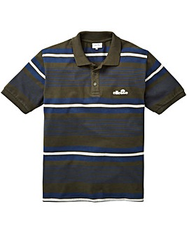Ellesse Doria Stripe Polo Long