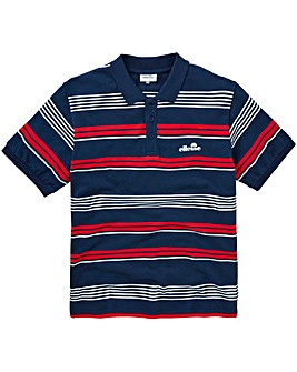 Ellesse Edoardo Stripe Polo Long