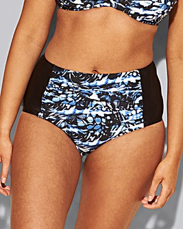 Beach to Beach Highwaisted Brief