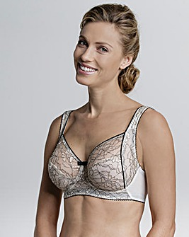 Miss Mary Contrast Lace Wired Bra