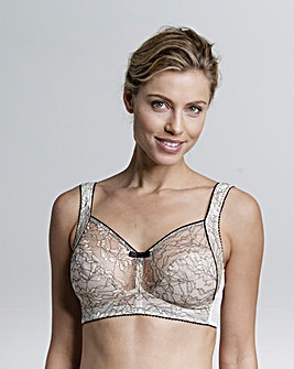 Miss Mary Contrast Lace Non Wired Bra