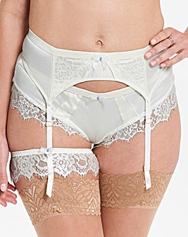 Ultimo Bridal Suspender Belt