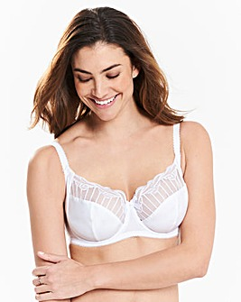 Charnos Sienna White Balcony Wired Bra