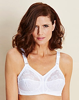 PRESS Triumph Doreen NonWired White Bra