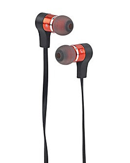 Intempo Aluminium Earphones Headphones