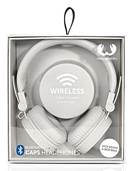 Fresh and Rebel Wireless Headphones Grey