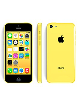 O2 Iphone 5c 8gb Yellow
