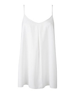 Ivory Pleat Camisole