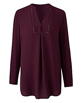 Placket Front Tunic