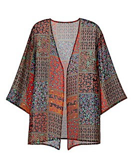 Multi Print Kimono