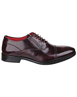 Base London Noel Hi-Shine Lace up Shoe