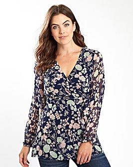 Joe Browns Floral Wrap Tunic