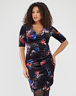 Joe Browns Velour Print Dress