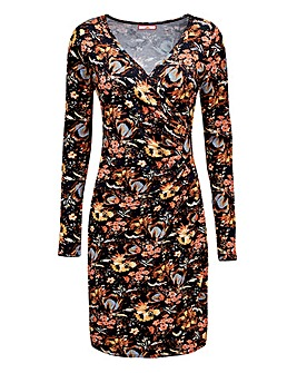 Joe Browns Autumn Leaf Wrap Dress