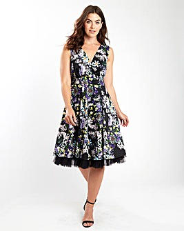 Joe Browns Peggy Sue Sexy Floral Dress