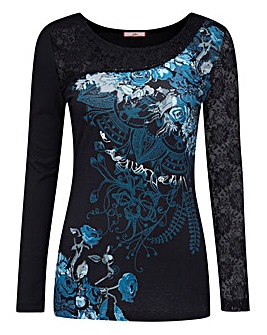 Joe Browns Mystical Sleeve Jersey Top