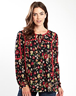 Joe Browns Fabulous Floral Jersey Top