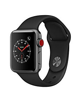 Apple Watch 3 42mm Black Sport Band