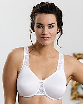 Miss Mary Seamfree Cup White Bra