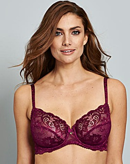 Gossard Gypsy Purple Balcony Bra