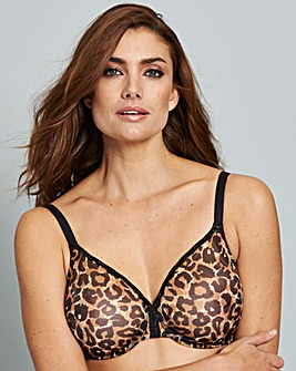 Gossard Glossies Sheer Animal Print Bra