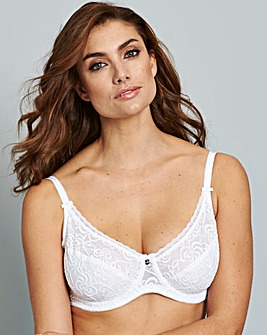 Berlei Heaven Lace Wired White Bra