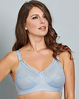 Miss Mary Non Wired Bra Blue