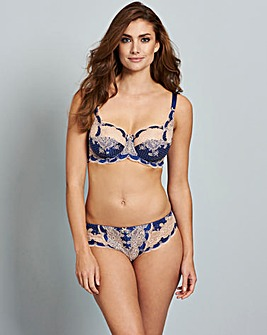 Panache Clara Full Cup Royal Blue Bra