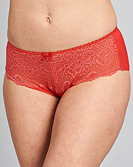 Playtex Flower Lace Red Briefs