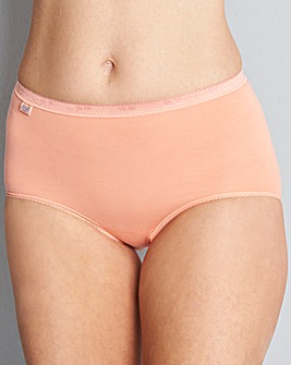 Sloggi 3Pk Basic Maxi Briefs Yellow Mult