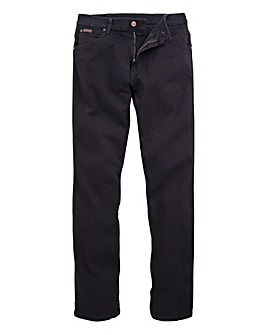 Wrangler Texas Stretch Black 34 In Leg