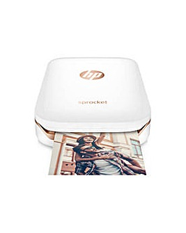 HP Sprocket Photo Printer - White.