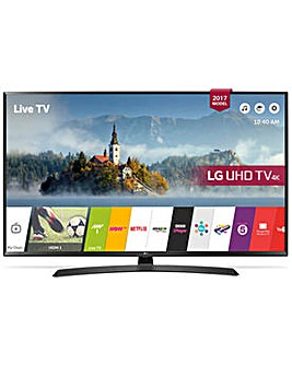 LG 43 Inch Smart 4K Ultra HD TV with HDR