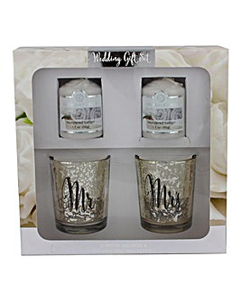 Colonial Candle Wedding Gift Set