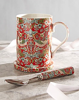 William Morris Mug and Coaster Gift Set