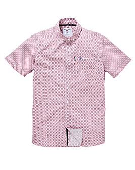 Lambretta Cooper Print Shirt Long