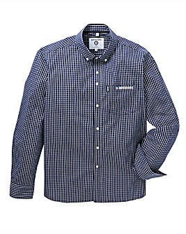 Lambretta Mini Grid Check Shirt Long