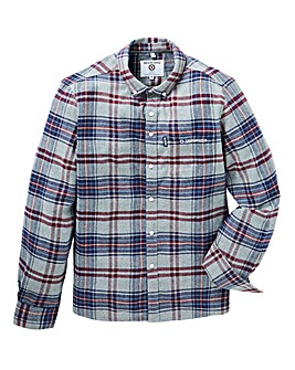 Lambretta Flannel Plaid Check Shirt Long