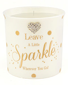 Leave a Little Sparkle Candle