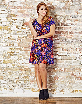 Jeffrey & Paula Print Tunic Top