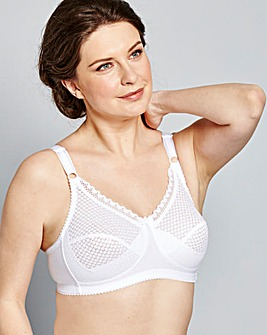 Miss Mary Non Wired Bra White
